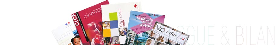 Création de catalogue, brochure, bilan social, compte rendu, rapport, argumentaire par dfDesign - Denis Foussard - graphiste